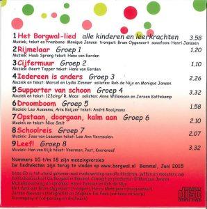 Achterkant CD Borgwal