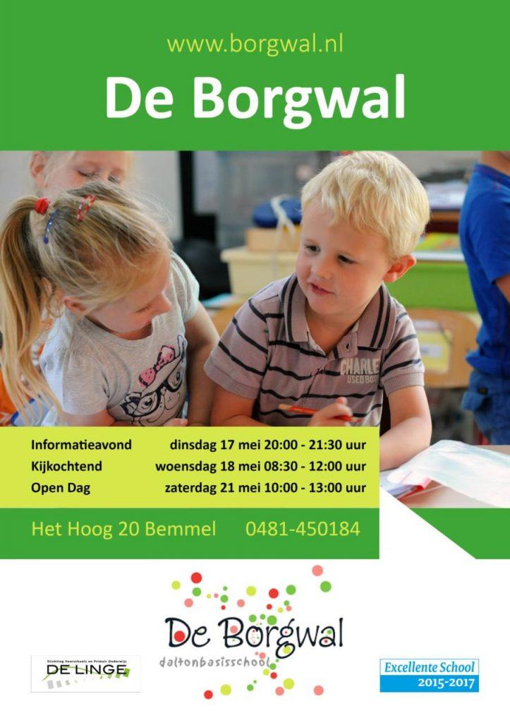 Open Dagen Borgwal mei 2016