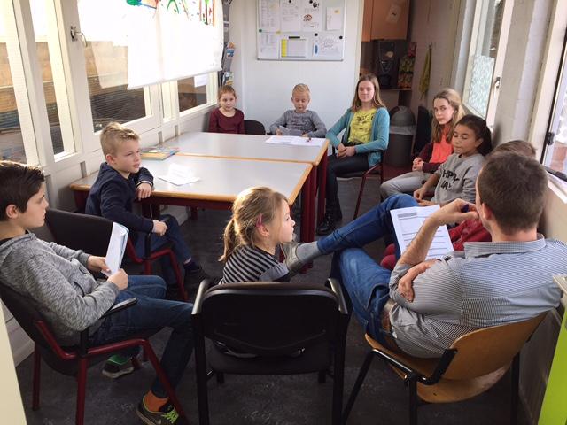 Vergadering leerlingenraad