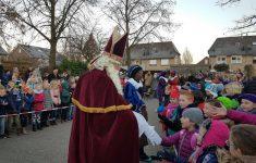 Sinterklaasviering op De Borgwal