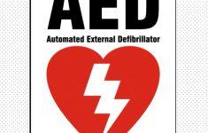 AED op De Borgwal