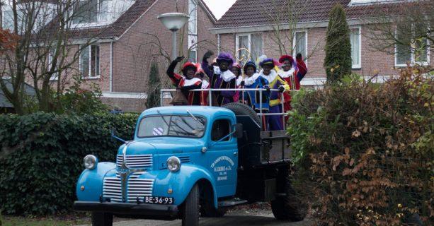 Sinterklaas op de Borgwal