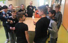 Groep 8 bezoekt de minilessen Citadel College in Lent