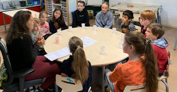 Eerste leerlingenraadsvergadering